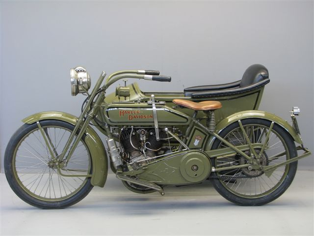 Harley Davidson Battery >> Harley Davidson 1919 model 19J combination - Yesterdays