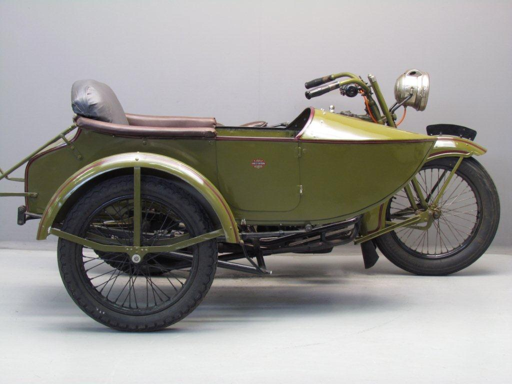 Harley Davidson 1925 25fe Combination 1000 Cc 2 Cyl Ioe