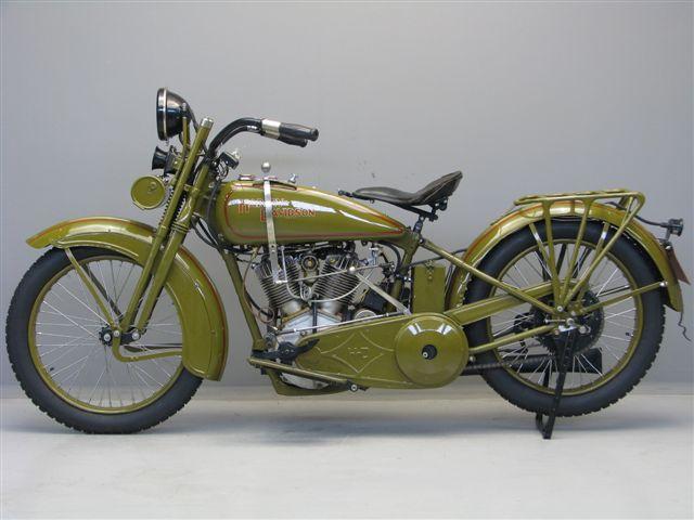 Harley Davidson 1925 Model 25je 1000 Cc Ioe Yesterdays Jd