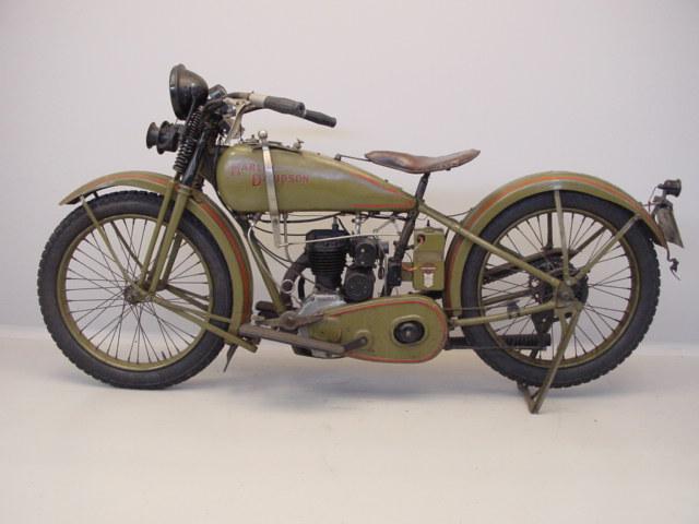 Harley Davidson 1926 26B 350cc 1cyl Sv