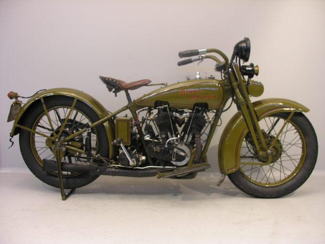 Harley Davidson 1928 28J 1000 cc 2 cyl ioe