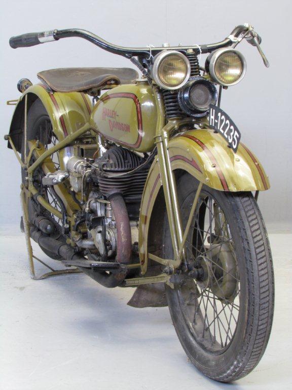 Harley Davidson 1929 29c 500 Cc 1 Cyl Sv