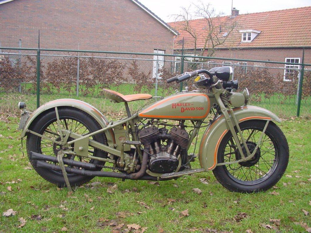 1928 Harley Davidson Ba Single: Harley Davidson 1929 29D 750 Cc 2 Cyl Sv