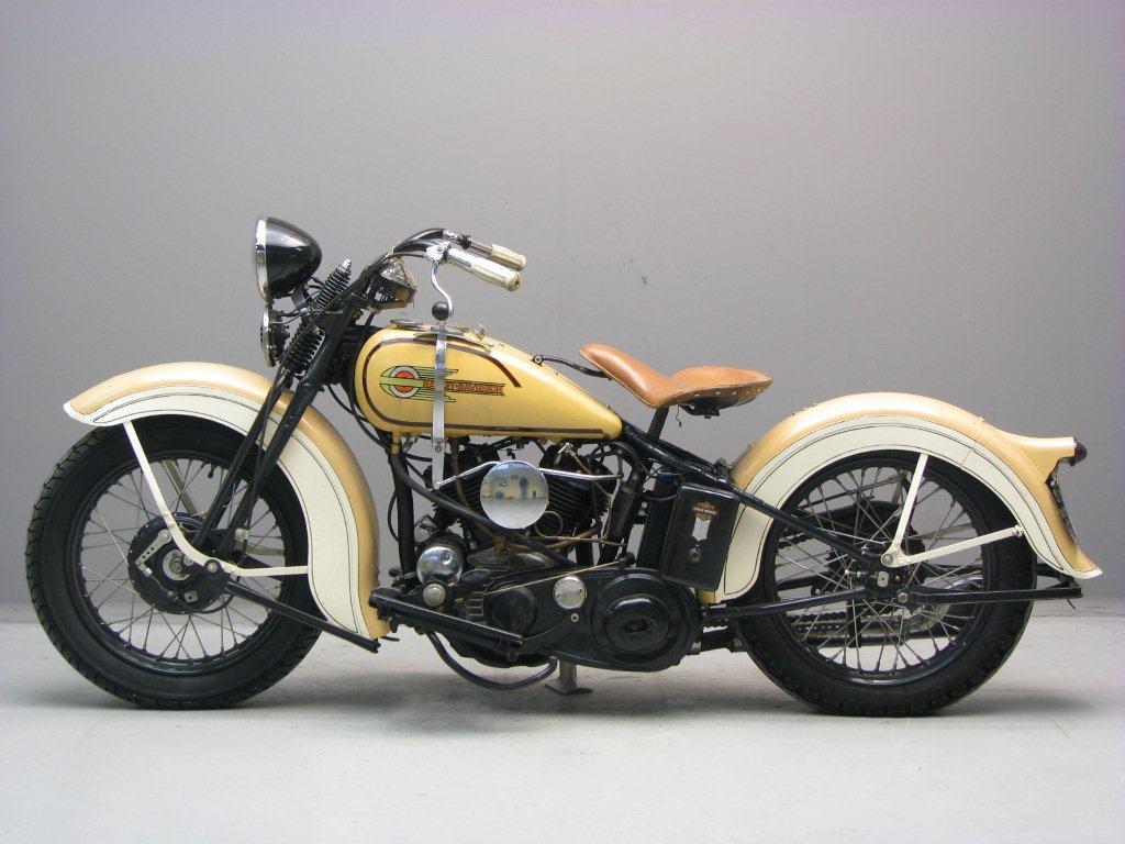 Harley Davidson: Harley Davidson 1935 35R 750 Cc 2 Cyl Sv