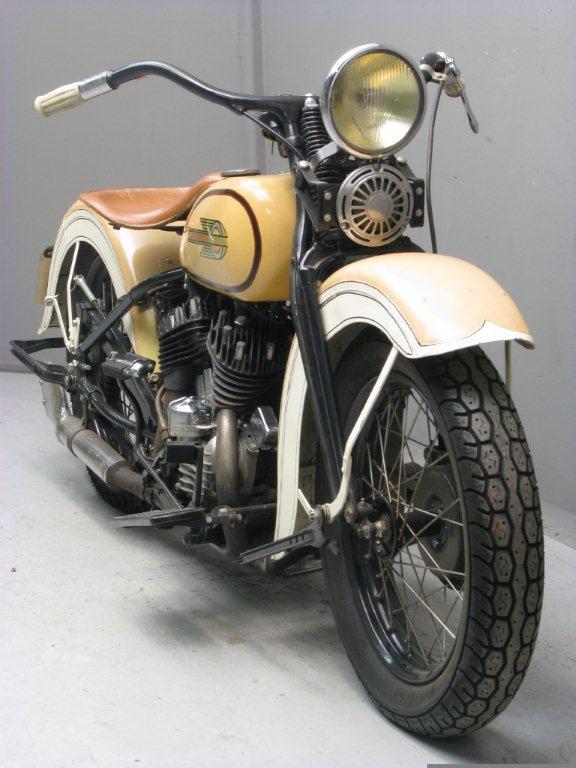 Harley Davidson 1935 35R 750 cc 2 cyl sv - Yesterdays