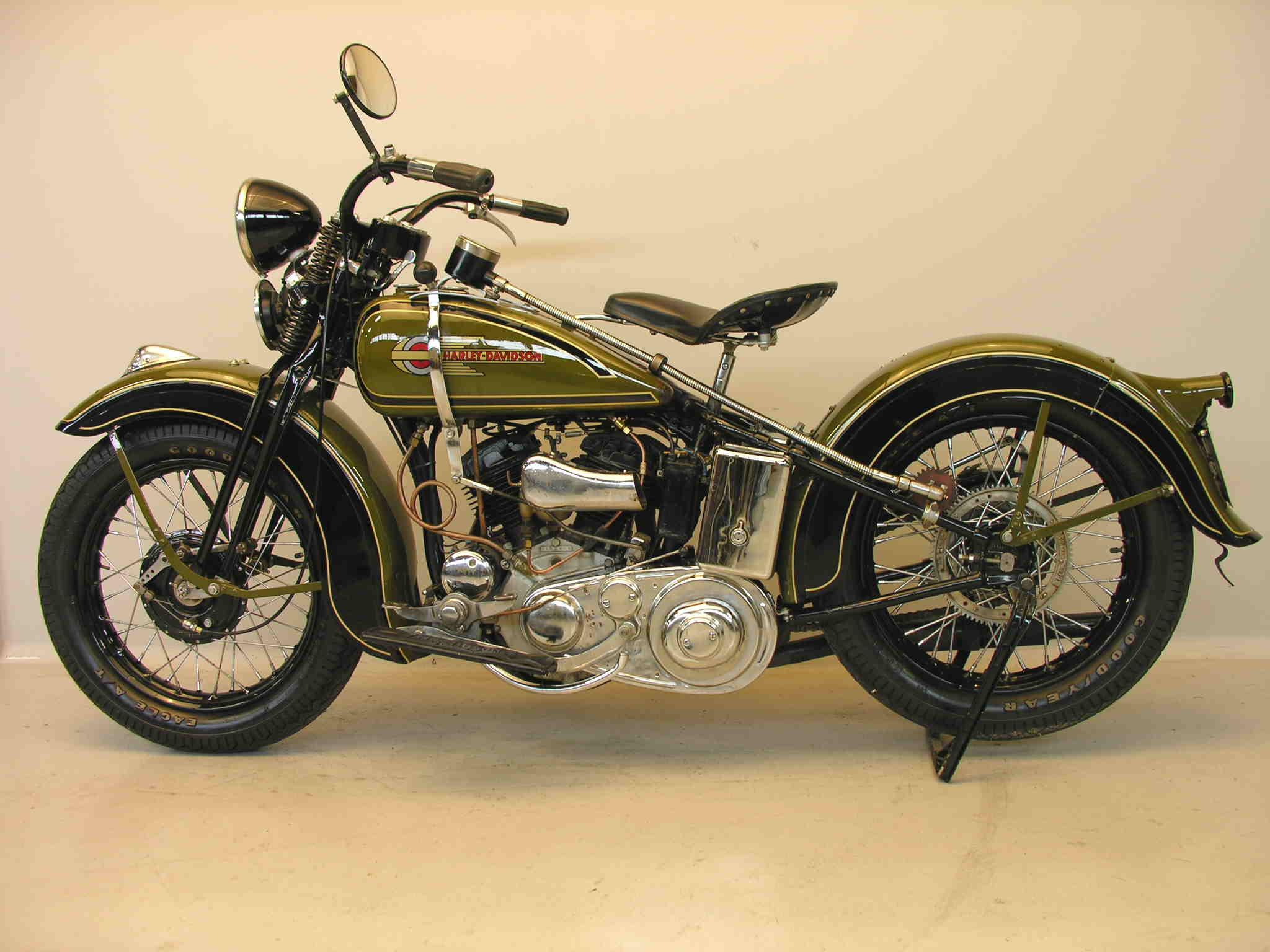 Harley Davidson: Harley Davidson 1936 36R 750 Cc 2 Cyl Sv