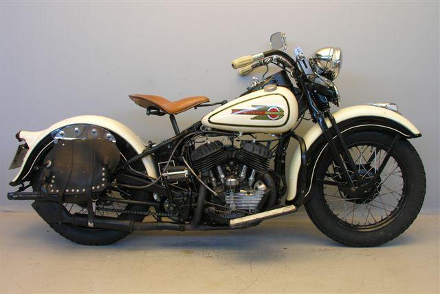 Harley Davidson: Harley Davidson 1938 38WL 750 Cc 2 Cyl Zk