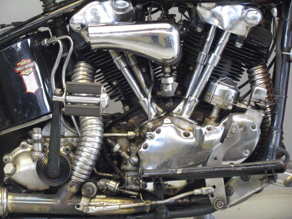 Harley Davidson El Eh on V Twin Motorcycle Engines