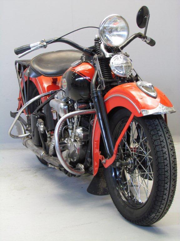 Harley Davidson Covers >> Harley Davidson 1939 39EL 1000 cc 2 cyl ohv - Yesterdays