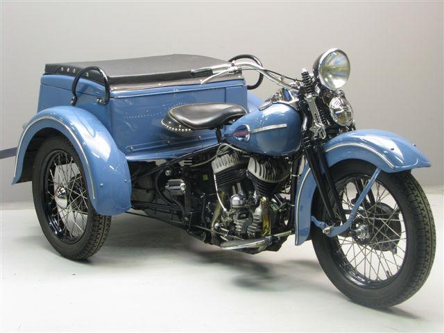 Harley Davidson: Harley Davidson 1942 Servicar 750 Cc 2 Cyl Sv