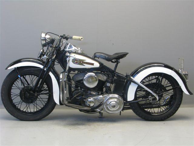 Harley Davidson 1943 WLC 750 cc 2 cyl sv - Yesterdays