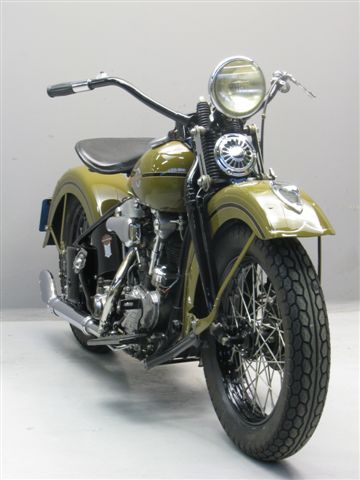 Harley Davidson Knucklehead Hb on 3 Cylinder Motorcycle Engine