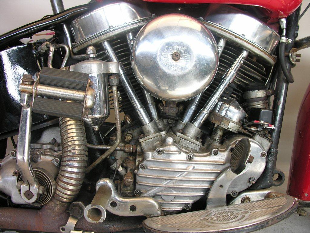 Harley Davidson 1953 Hydra Glide 1200 Cc 2 Cyl Ohv