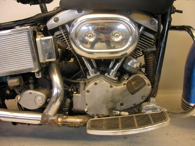 Harley    Davidson 1969 FLH    1200    cc 2 cyl ohv  Yesterdays