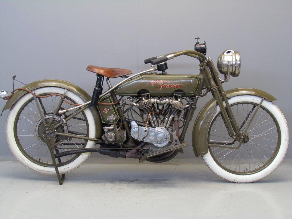 Harley Davidson F  Engine