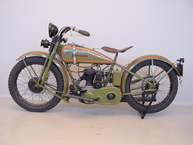 1928 Harley Davidson Ohv 350cc Sold: Harley Davidson 1928 28B 350 Cc 1 Cyl Sv
