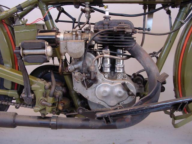 Rare 1928 Harley Model Ba Peashooter Single 350cc: Harley Davidson 1928 28B 350 Cc 1 Cyl Sv