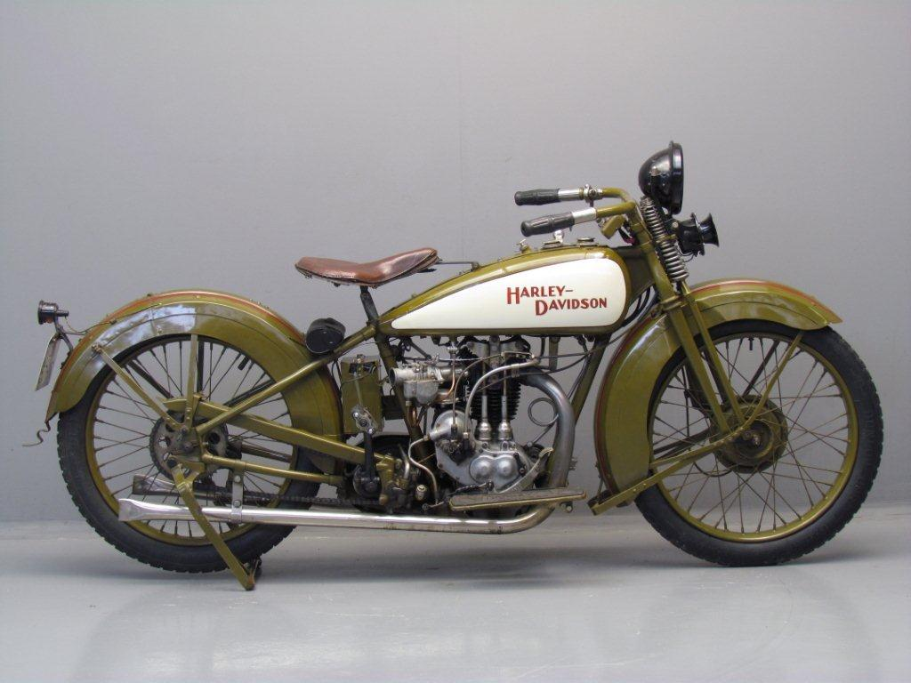 Harley Davidson 1929 29BAF 350cc 1 Cyl Ohv