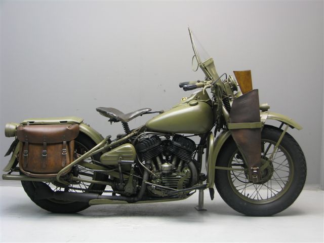 harley davidson 1942 wla 750 cc 2 cyl sv yesterdays. Black Bedroom Furniture Sets. Home Design Ideas