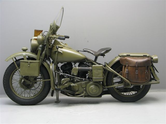 Harley Davidson Wla With Sidecar For Sale