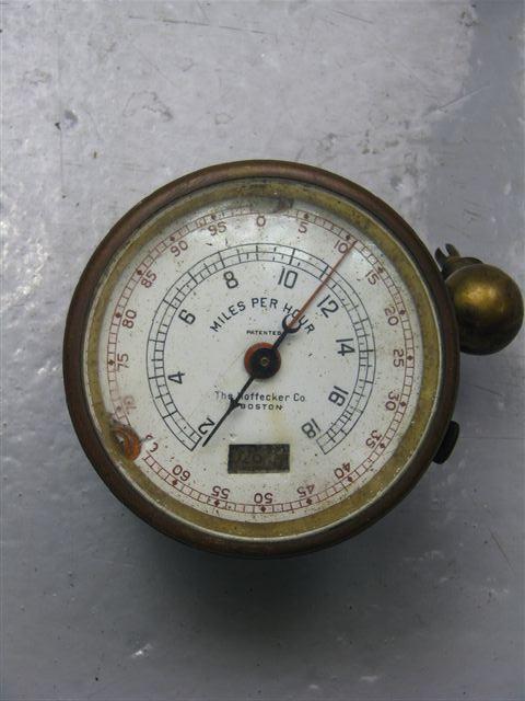#01 The Hoffecker speedometer