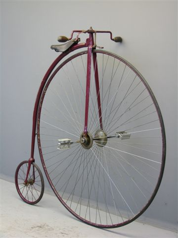 Goede 02 Rudge Penny Farthing 52 inch - Yesterdays IN-21