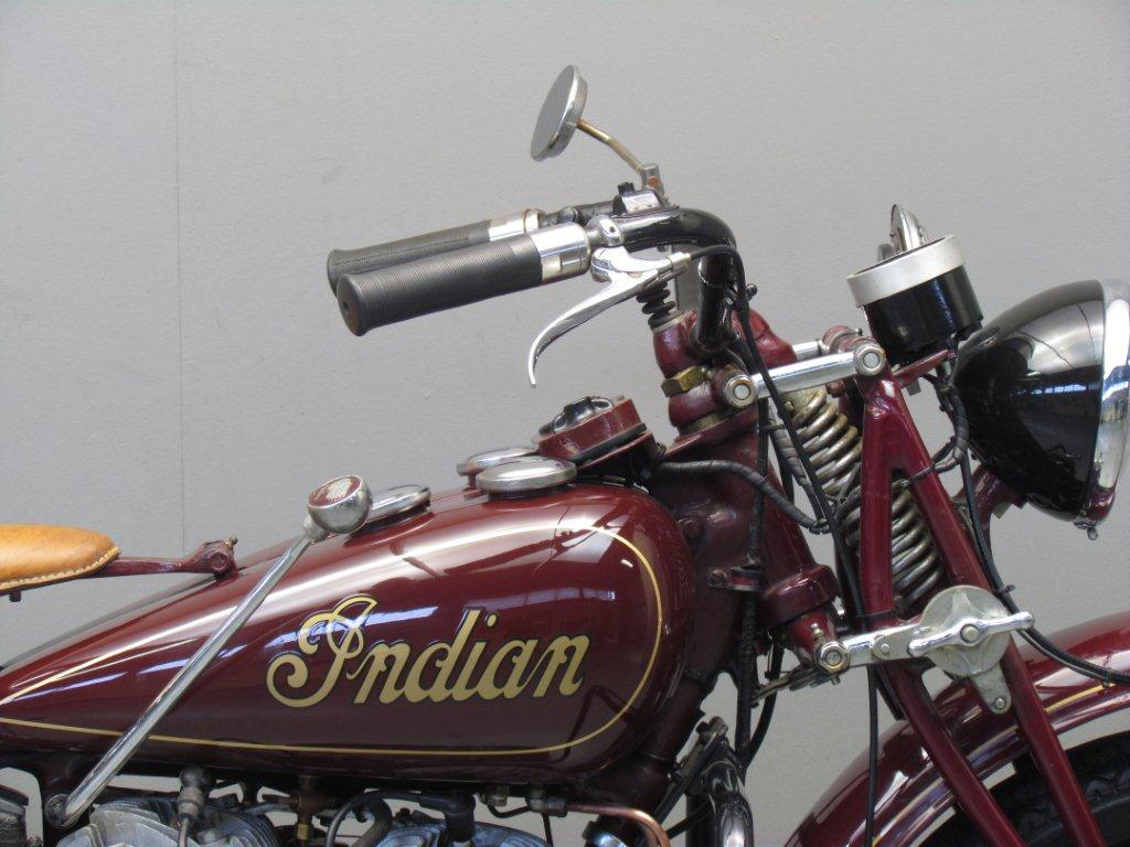 Indian 1942 741 500cc 2 cyl sv - Yesterdays