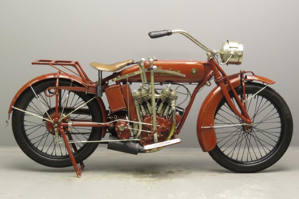 Indian 1918 Powerplus 998cc 2 cyl sv  2812