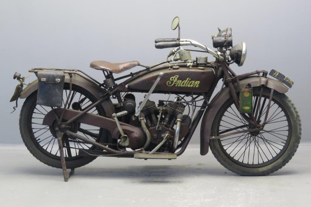 Indian 1920 Scout 600cc 2 cyl sv  2608