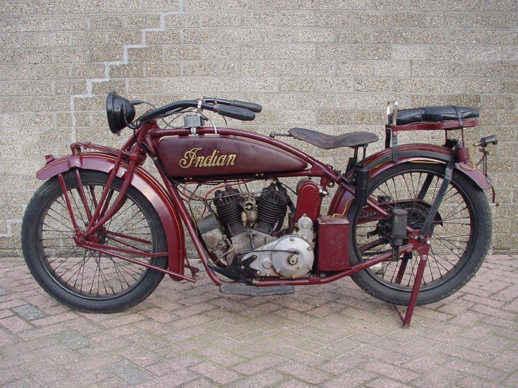 Indian 1921 scout 600cc 2 cyl sv - Yesterdays