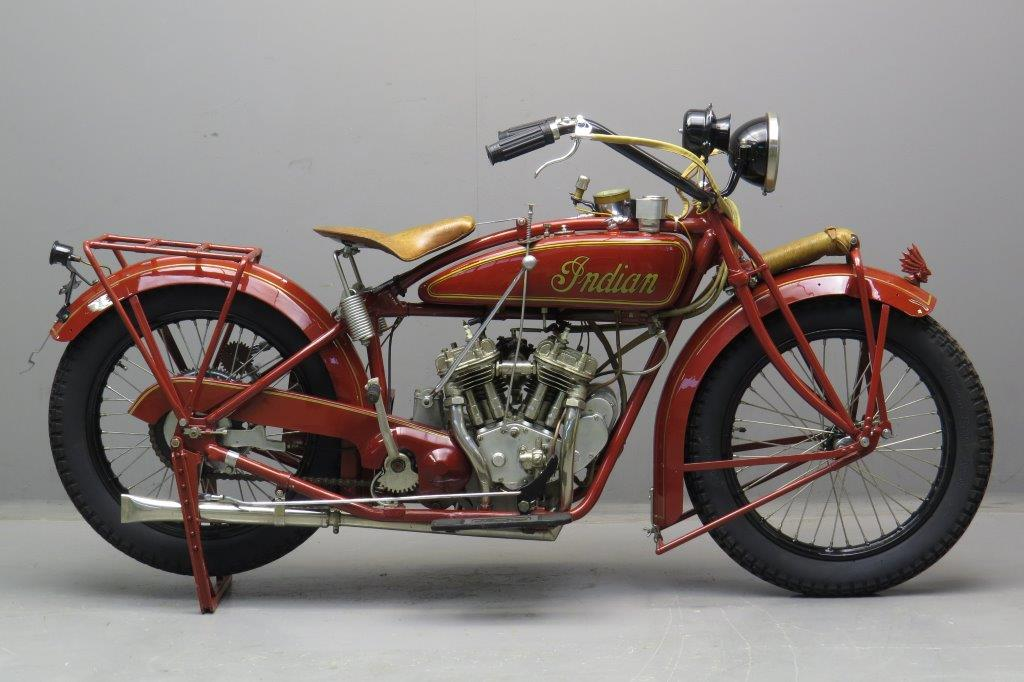 Indian 1925 Scout 600cc 2 cyl sv  2711