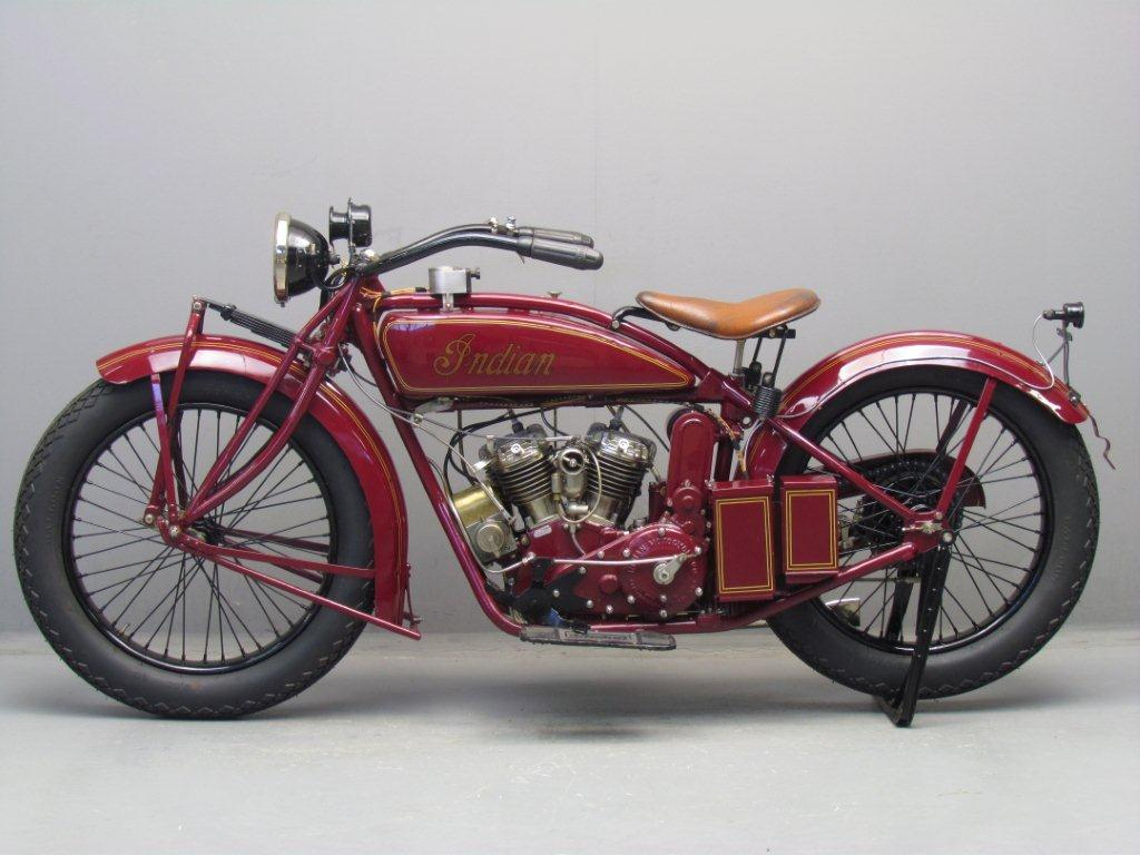 Indian 1924 Scout 600cc 2 cyl sv - Yesterdays
