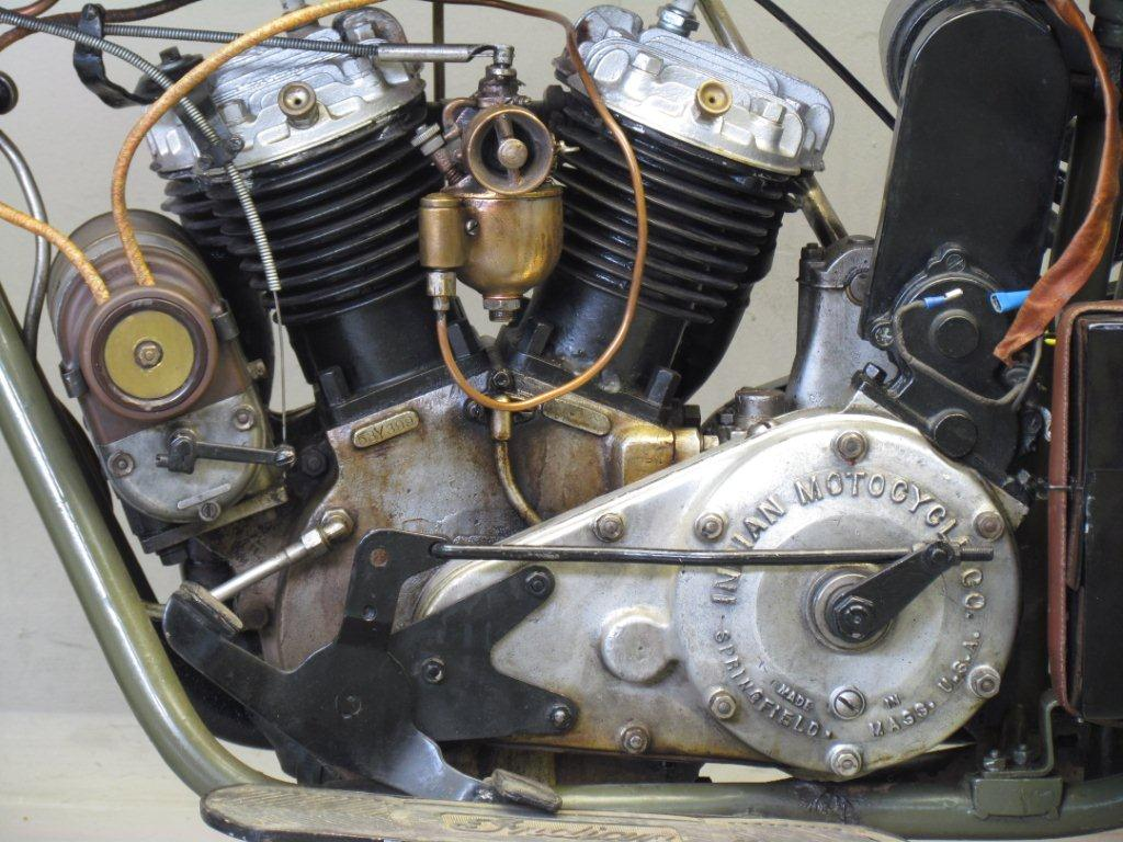 Indian 1925 Scout 600cc 2 Cyl Sv Yesterdays