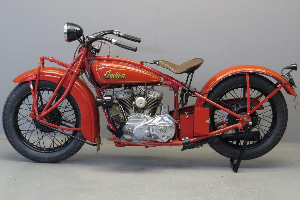 indian 1929 101 scout 750cc 2 cyl sv yesterdays. Black Bedroom Furniture Sets. Home Design Ideas