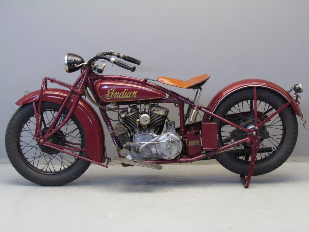 Indian 1929 101 Scout 750 cc 2 cyl sv - Yesterdays