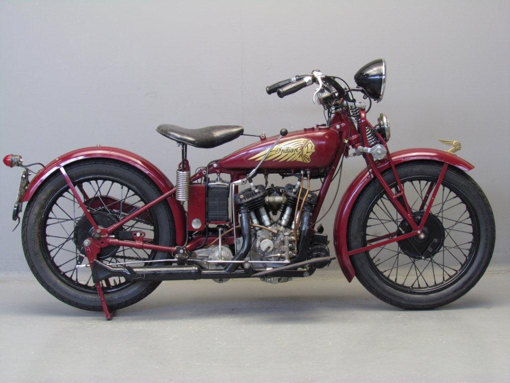 Indian 1935 Junior Scout 500cc 2 cyl sv
