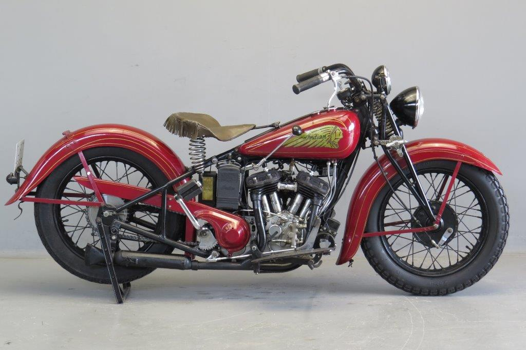 Indian 1935 Sport Scout 750cc 2 Cyl Sv Yesterdays