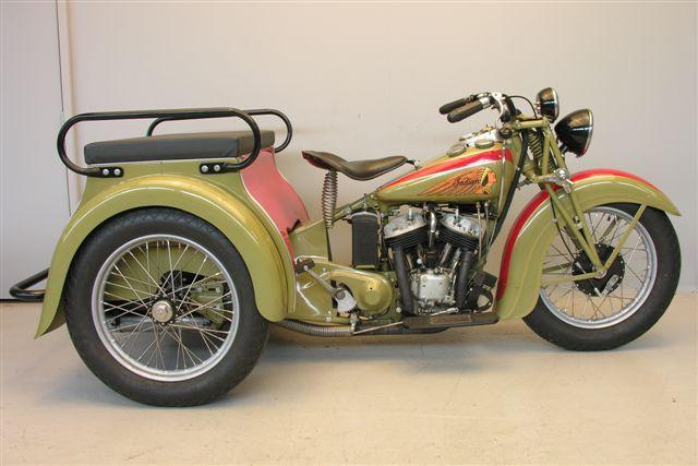 Harley Davidson: Indian 1939 Dispatch Tow 750cc 2 Cyl Sv