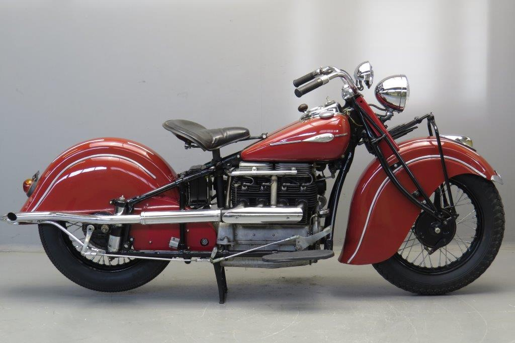 Indian 1941 441 1265cc 4 cyl ioe