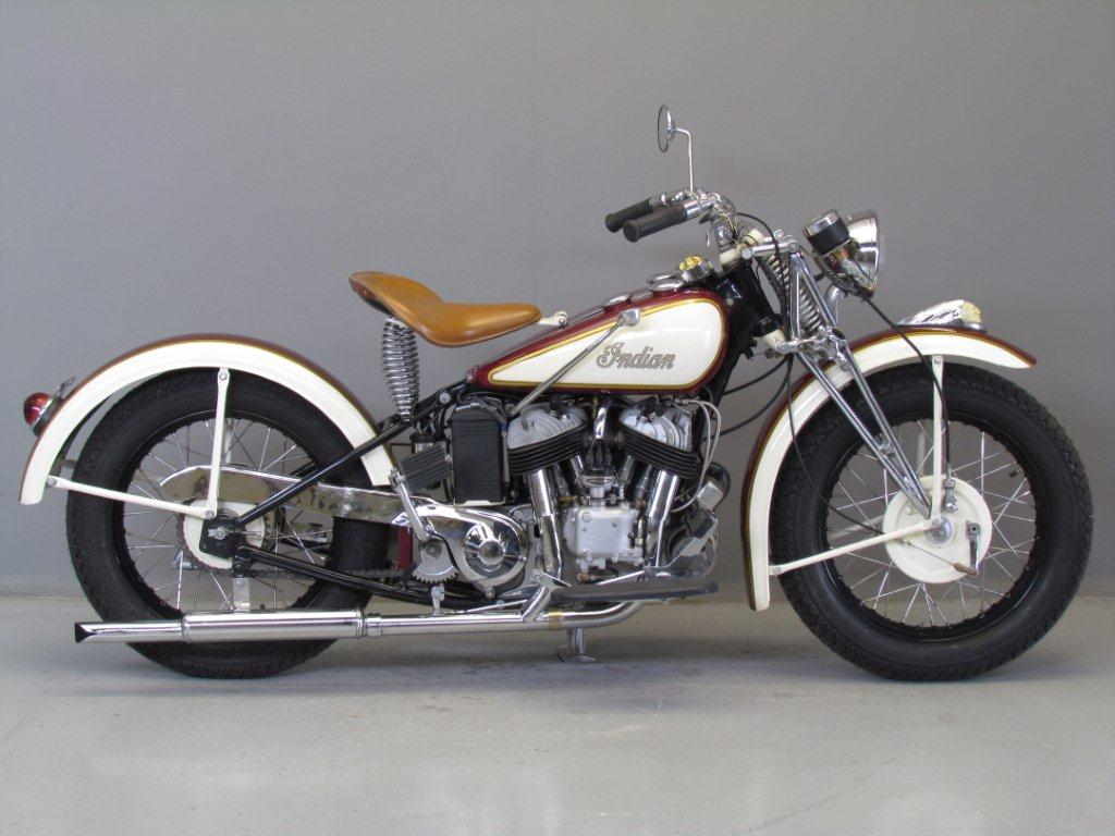 Indian 1941 Model 741 500 Cc 2 Cyl Sv