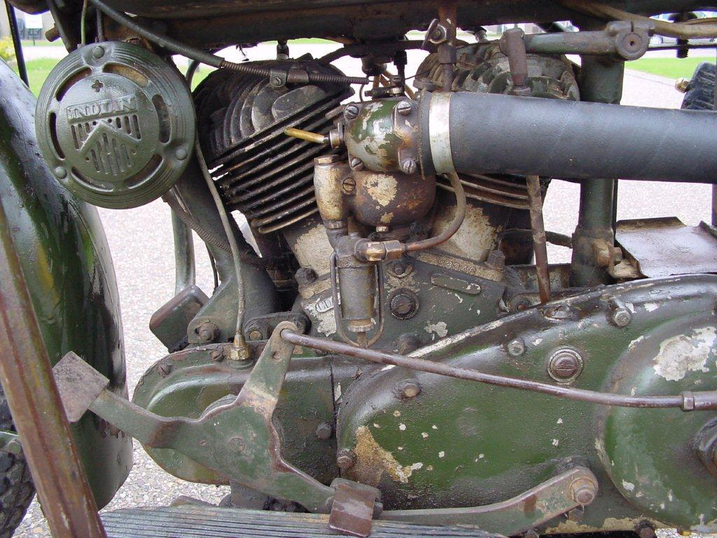 Indian 1941 741 500 Cc 2 Cyl Sv Yesterdays