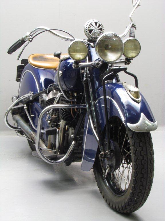 Indian 1944 Chief 1200cc 2 Cyl Sv Yesterdays