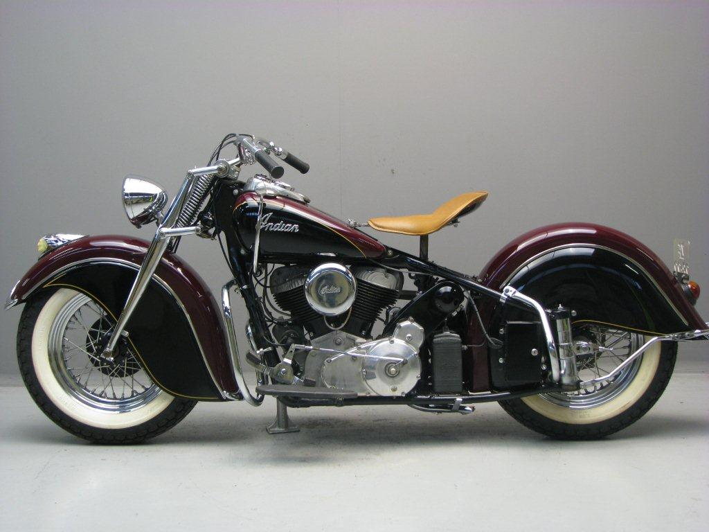 Indian 1946 Chief 1200 cc 2 cyl sv