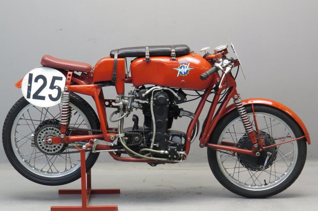 MV Agusta 1954 Bialbero 125cc 1 cyl dohc