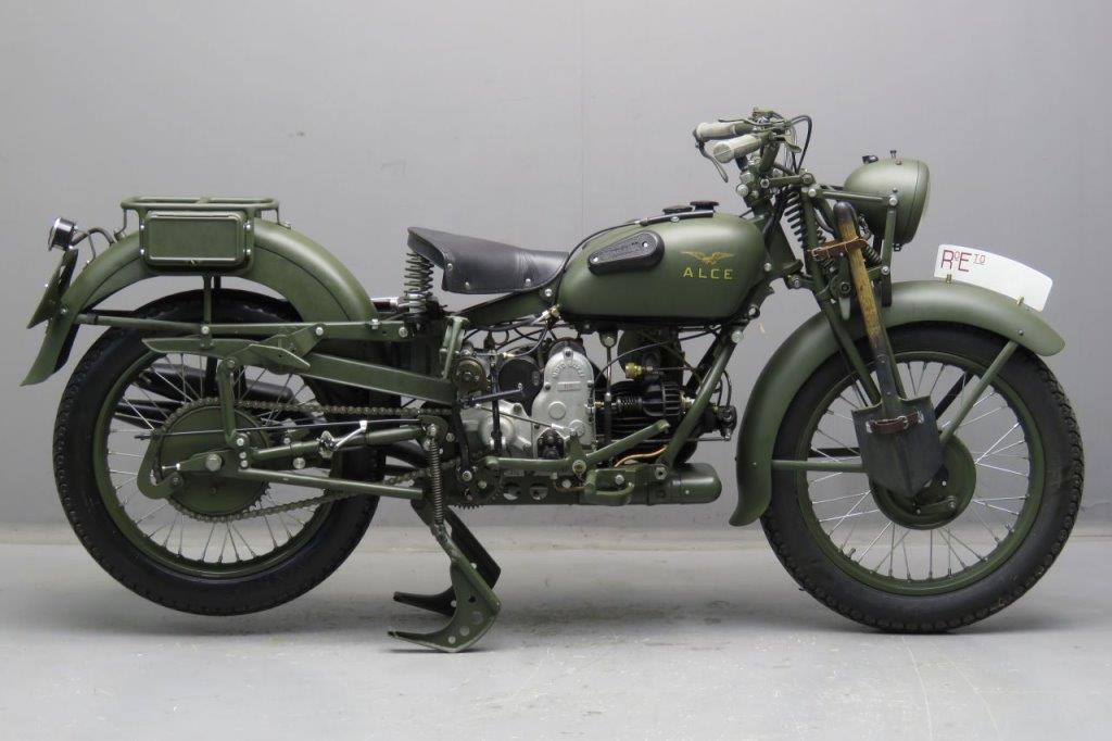 Moto Guzzi 1939 Alce 500cc 1 cyl ioe 2510 - Yesterdays