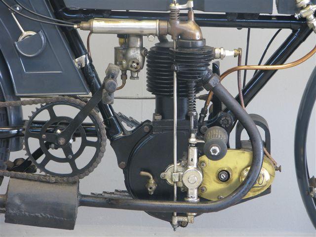 NSU 1909 3½ hp 410 cc 1 cyl ioe - Yesterdays