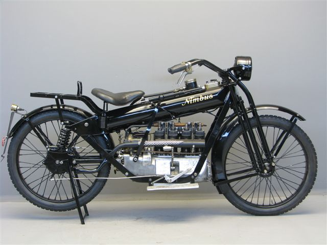 Nimbus 1923 Stove pipe 750 cc 4 cyl ioe