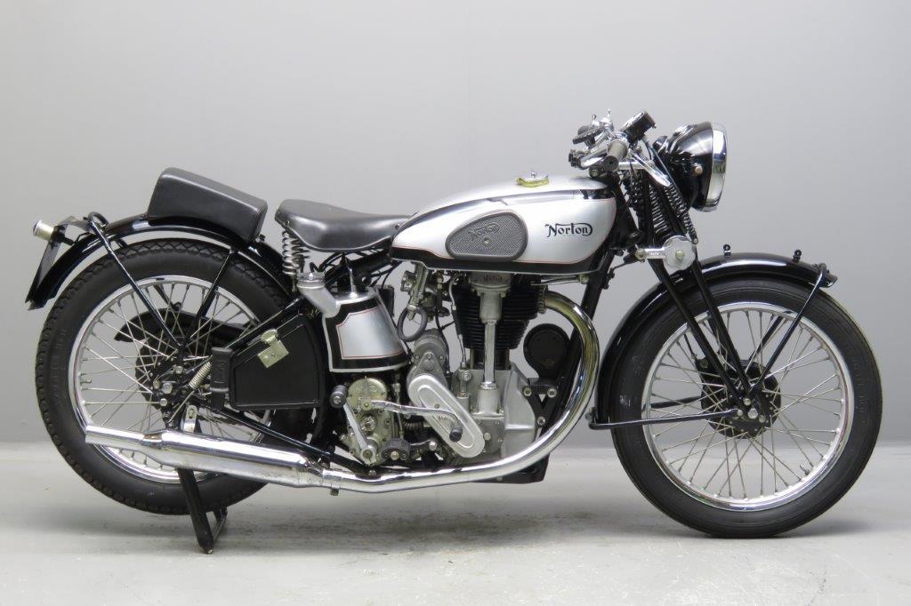 Norton 1934 International 500cc 1 cyl ohc  1612
