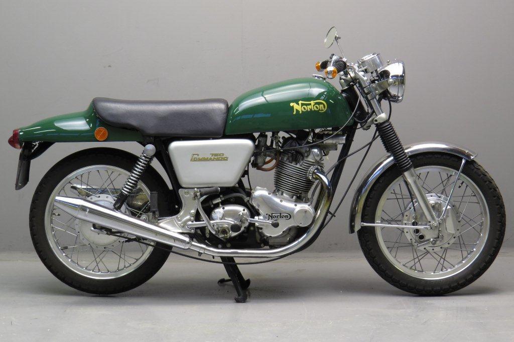 Norton 1973 commando fastback 750cc 2 cyl ohv yesterdays for The norton