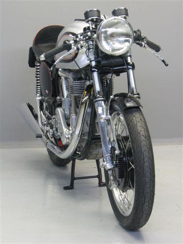 Ca 1961 Norton Manx Special Cafe Racer 499cc OHC Frame 97931 Engine ME900907